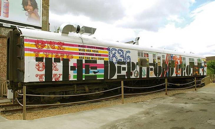 For a development in Deptford on derelict land, U+I placed a railway carriage on site - in the five years it was there the carriage operated a coffee shop facing the high street, and the staff were specifically training to ask clients about their thoughts on the development site.