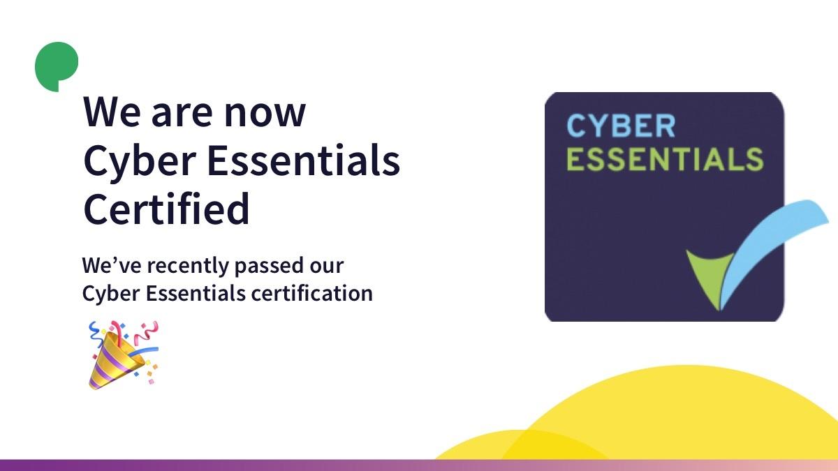 Cyber Esssntials Certified