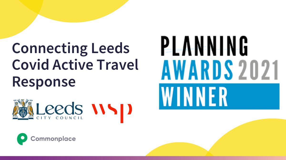 Planning Awards 2021 Winner