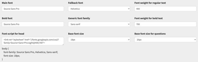Flexible Fonts