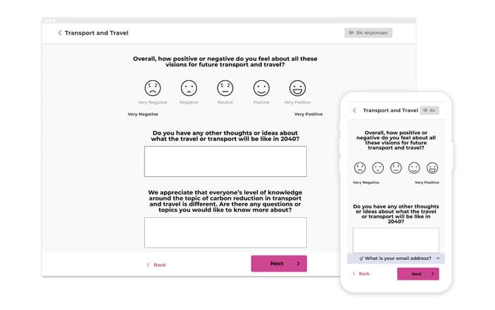 Surveys - Attractive - easy to use
