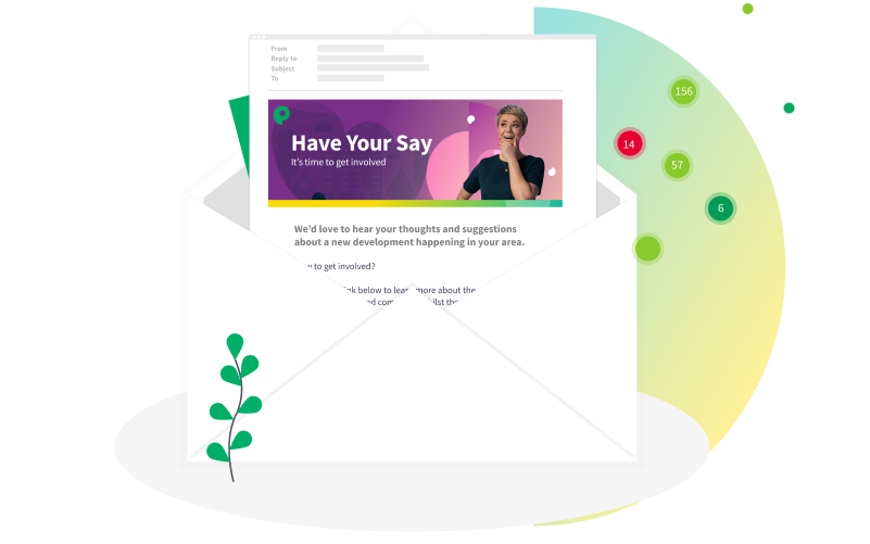 Email Campaign Management- Header