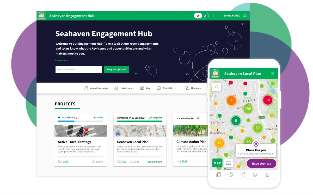 Commonplace community engagement platform