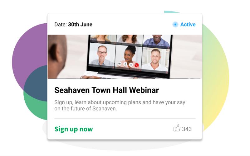 Town Hall Webinar Header